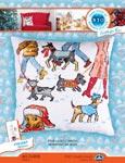 Набор для вышивки крестом Четвероногая зима - Four legged winter