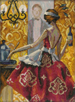 Набор для вышивки крестом Триш Биддл - Эффектные женщины в роскошных местах 2