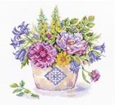 Набор для вышивки крестом Майский букет - May bouquet