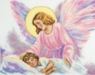 Набор для вышивки крестом Ангел-Хранитель