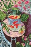 Набор для вышивки крестом Красные рыбки - Red fish