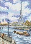 Набор для вышивки крестом Набережная Сены - Quai de Seine