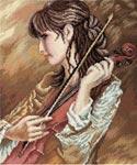 Набор для вышивки крестом Соната для скрипки