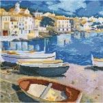 Набор для вышивки крестом Морская тема - Cote d-Azur