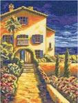 Набор для вышивки крестом Ривьера - Riviera