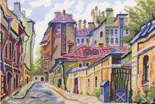 Набор для вышивки крестом Переулки - Alleys