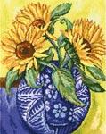 Набор для вышивки крестом Sunny tapestry Название по-русски: Солнечная мозаика