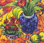 Набор для вышивки крестом Солнечная мозаика - Sunny tapestry