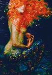 Рыжая русалка - Red mermaid