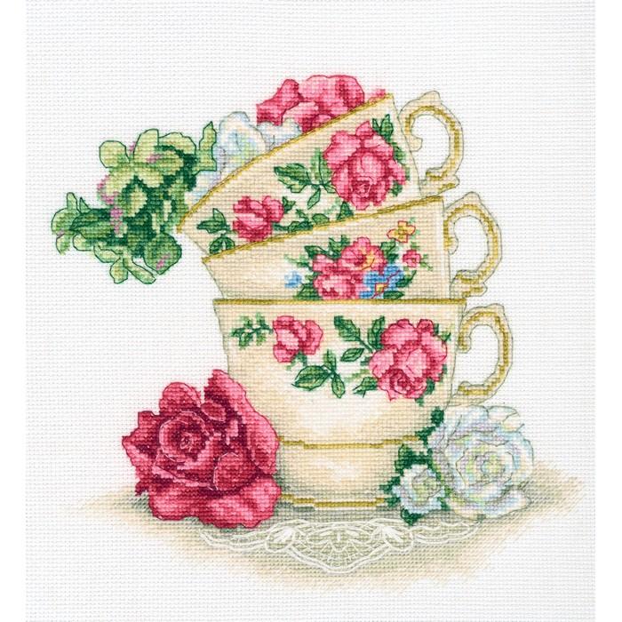 Чашки вышивка крестом наборы