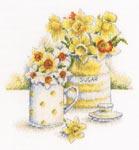 Набор для вышивки крестом Весенний свет - Spring light
