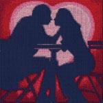 Набор для вышивки крестом Чувство любви - Love feeling