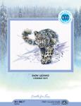 Набор для вышивки крестом Снежный Барс - Snow leopard