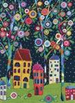 Набор для вышивки крестом Цветущие деревья - Bloomy trees