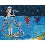 Набор для вышивки крестом Алые паруса - Scarlet sails
