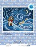 Набор для вышивки крестом Снежный вальс метели - Snow waltz of snow storm