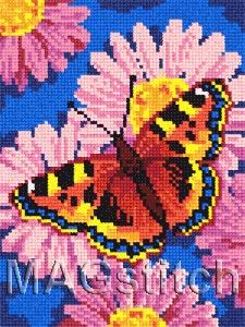 Бабочка вышивка для детей