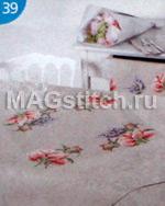 Вышивка крестом цветы мая