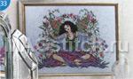 Вышивка крестом принцесса на горошине