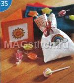 Вышивка крестом подарки сладки