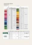 Карта цветов мулине Анкор разворот 9