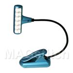 Мини-лампа клипса с 6-ю светодиодами