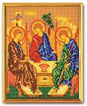 Святая Троица -  вышивка бисером