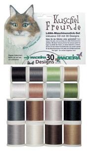 Набор вышивальных ниток Madeira Lana 16*200м