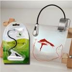 Мини-лампа LED цвет серебряный