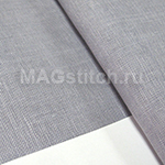Канва для вышивания Канва лен DMC 28  серый средний 318 rock pigeon ОТРЕЗ 50x50 ОТРЕЗ