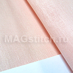 Канва лен DMC 28  розовый 784 pink ОТРЕЗ 35x40