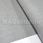 Канва лен DMC 28 серый 954 gray ОТРЕЗ 40x40