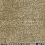 Канва лен DMC 28 натуральный серо-бежевый темный 3782 ОТРЕЗ 50x50