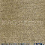 Канва лен DMC 32 натуральный бежево-серый 3782