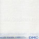 Канва лен DMC 32 белый В5200 ОТРЕЗ 50x70