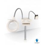 Гибкая светодиодная лампа с лупой и гибким держателем для схем к стенду StitchSmart D53047