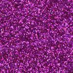 Фоамиран - лист вспененной резины с блестками ярко розовый