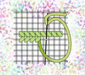 """Канва для вышивания Флизелин CONFETTI арт. К260 водорастворимый с рисунком Сетка """"Аида №16"""""""