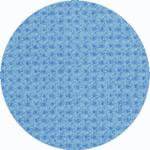 Канва AIDA 14 Gamma синяя ОТРЕЗ 100х100 см