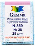 Мулине dmc Иглы гобеленовые для вышивания № 28