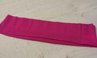 Трикотажная ткань (подвяз), круговой вязки, 23 х 85 см цвет малиновый