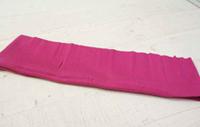 Трикотажная ткань (подвяз), круговой вязки, 23 х 85 см цвет темно-розовый