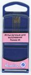 Иглы для вышивания с закруглённым кончиком в пластиковом контейнере №26
