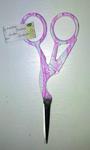 Ножницы для вышивания цапельки розовые