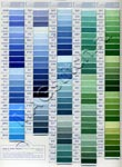 Карта цветов DMC страница 2