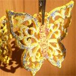 Украшение из фельта Бабочка