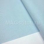 Канва равномерная Linda 27 Zweigart 562 голубая ОТРЕЗ 30x35