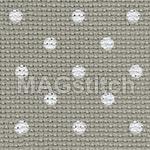 Канва для вышивания Канва AIDA 20 Zweigart extra fine 3189  Petit point белый горошек ОТРЕЗ 55x80
