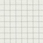 Канва для вышивания Канва Lugana 25 easy count - молочная с серой СМЫВАЕМОЙ разметкой  ОТРЕЗ 60х70