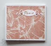 """CD-box на магнитах для 2 cd """"Орхидеи"""""""